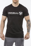 black classic series cotton best gym t-shirt