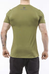 army-green classic series cotton comfortable soft shirt