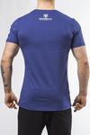 navy-blue classic series cotton comfortable soft shirt