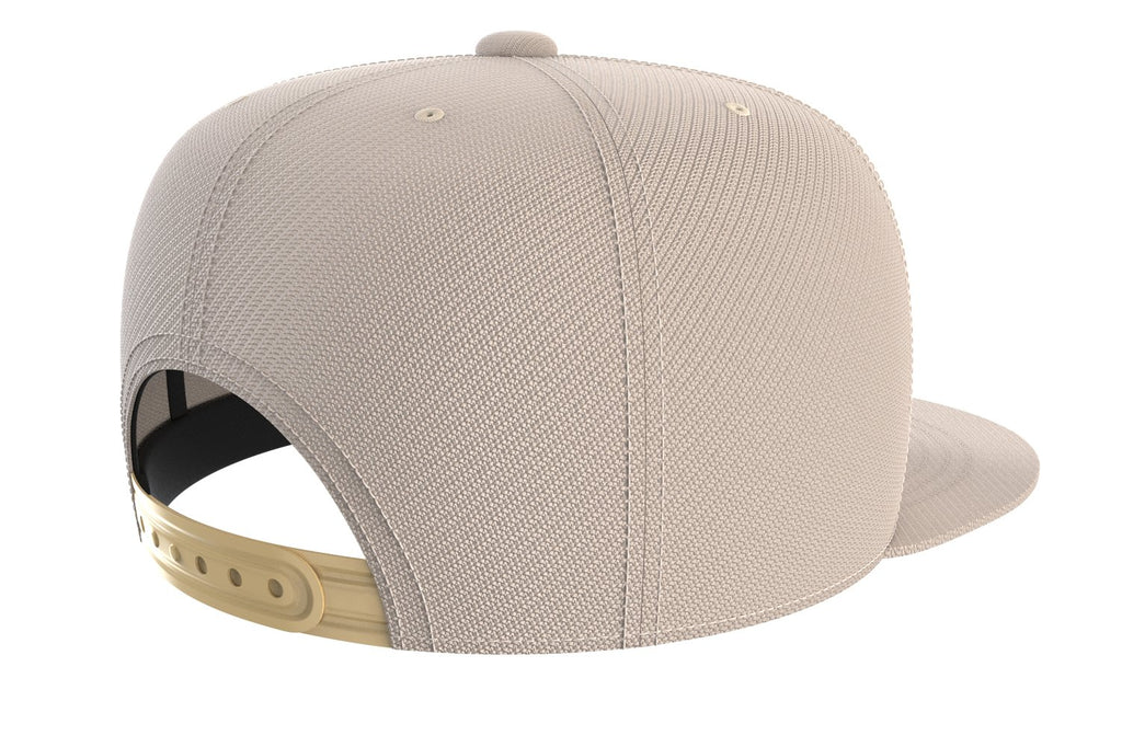 tan adjustable snapback iron bull strength