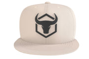 tan cap with fitness logo