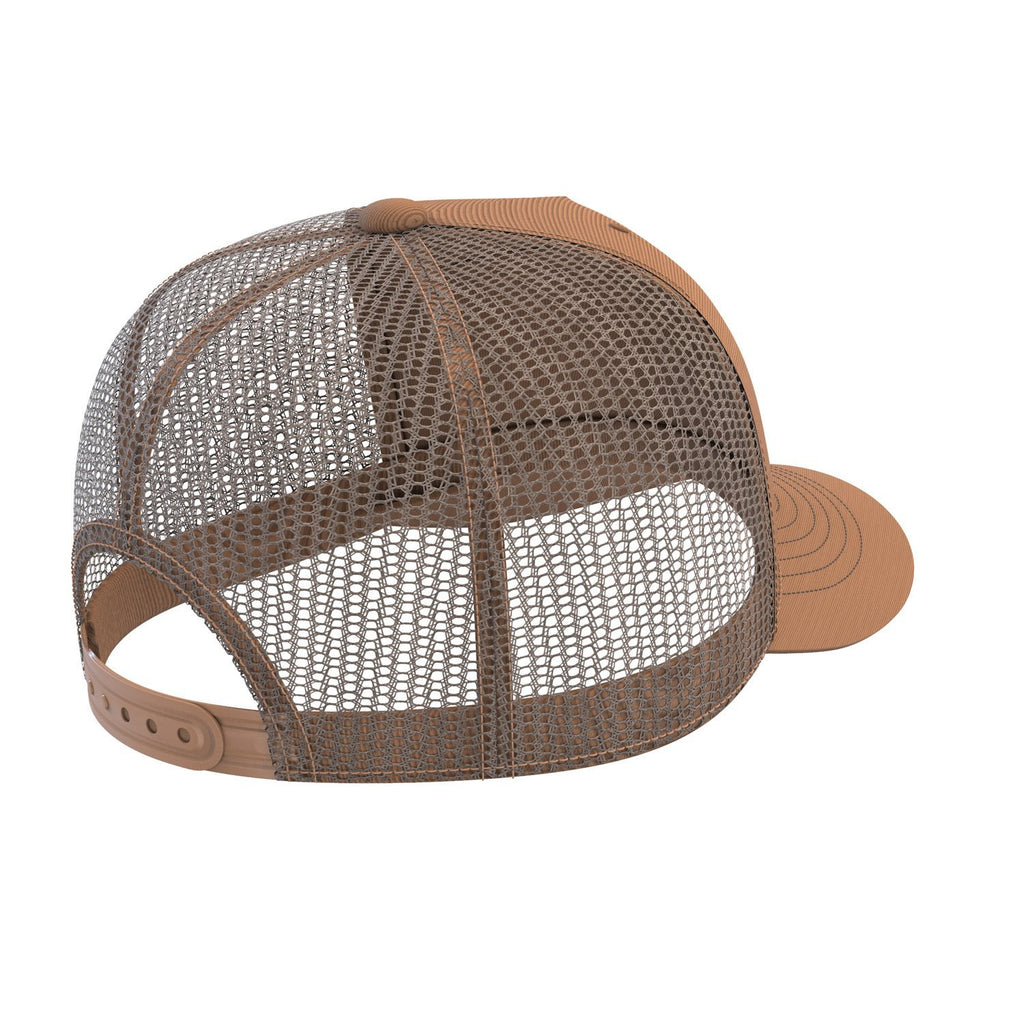 tan sports fitness trucker cap