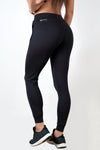 black lightweight soft women's premium joggers