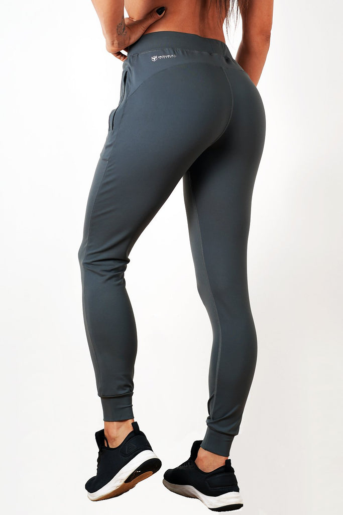 charcoal lightweight soft women's premium joggers