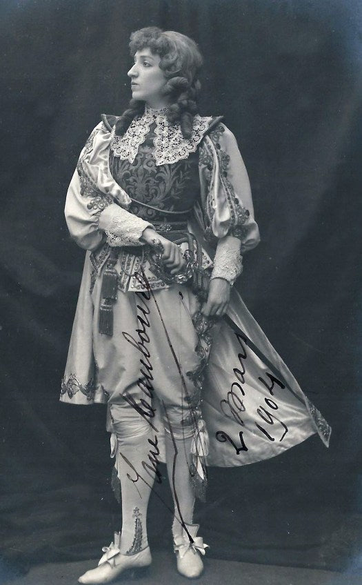 Jeanne Maubourg (1875-1953) as the Prince Charmant in Cendrillon