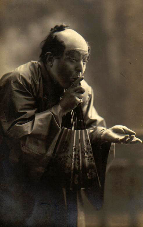 Octave Dua (1882-1952) as Goro in Madama Butterfly