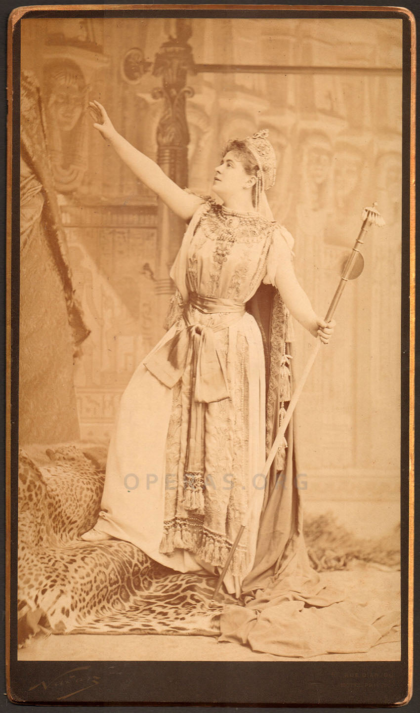 Marie Delna as Didon in Les Troyens - Debut at age 17