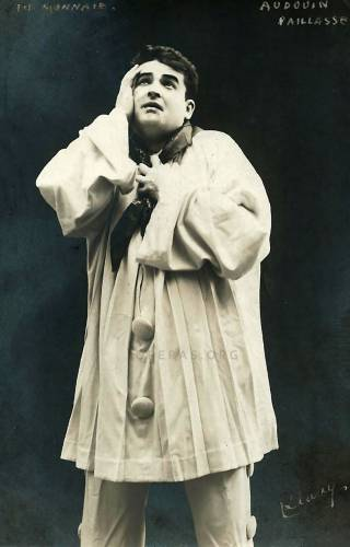 """Eric Audouin (1884-1949) as Canio (""""Paillasse"""" or """"Pagliacci"""")"""