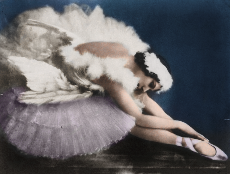 Anna Pavlova in The Dying Swann
