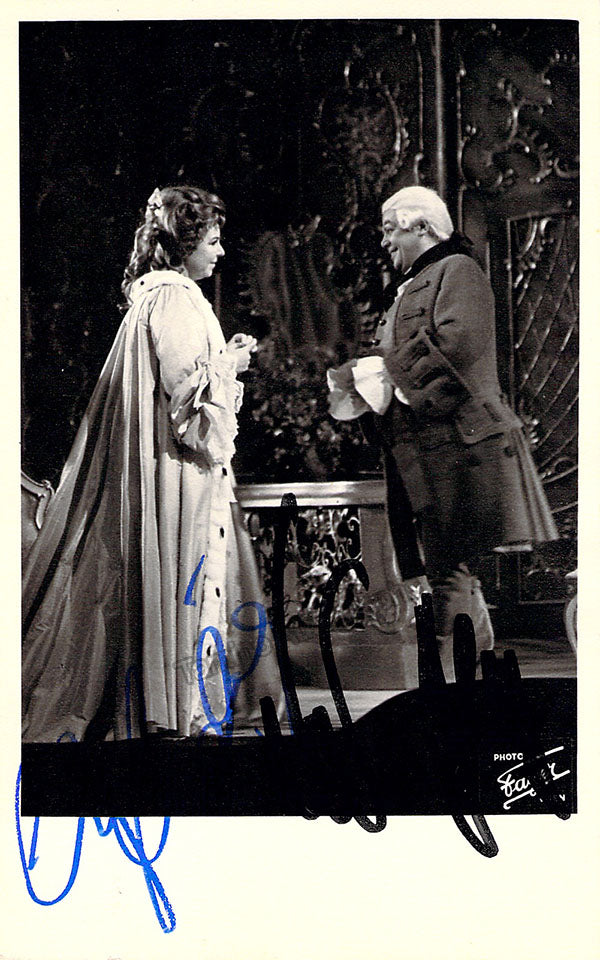 Christa Ludwig and Walter Berry in Rosenkavalier