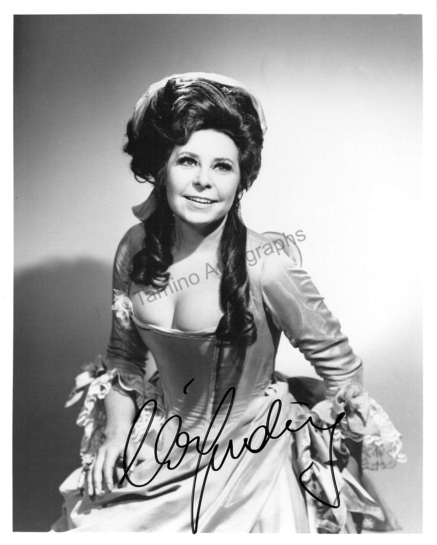 Christa Ludwig signed photo in role - Tamino Autographs