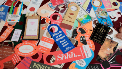 Hotel do not disturb sign collection