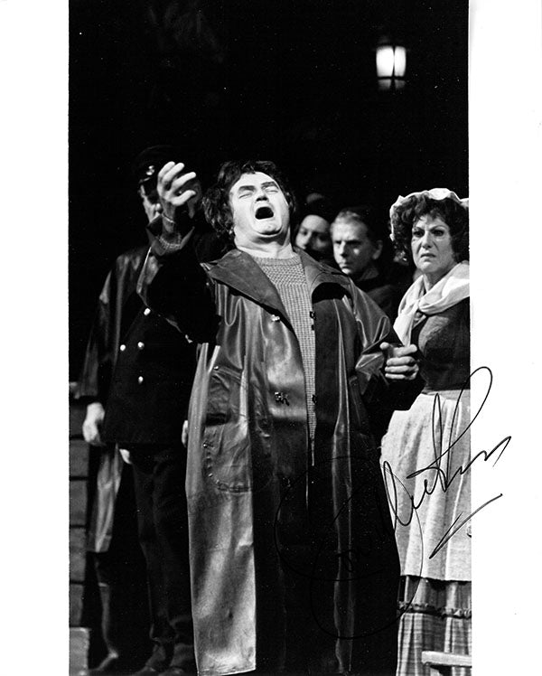 Jon Vickers signed photo in Peter Grimes