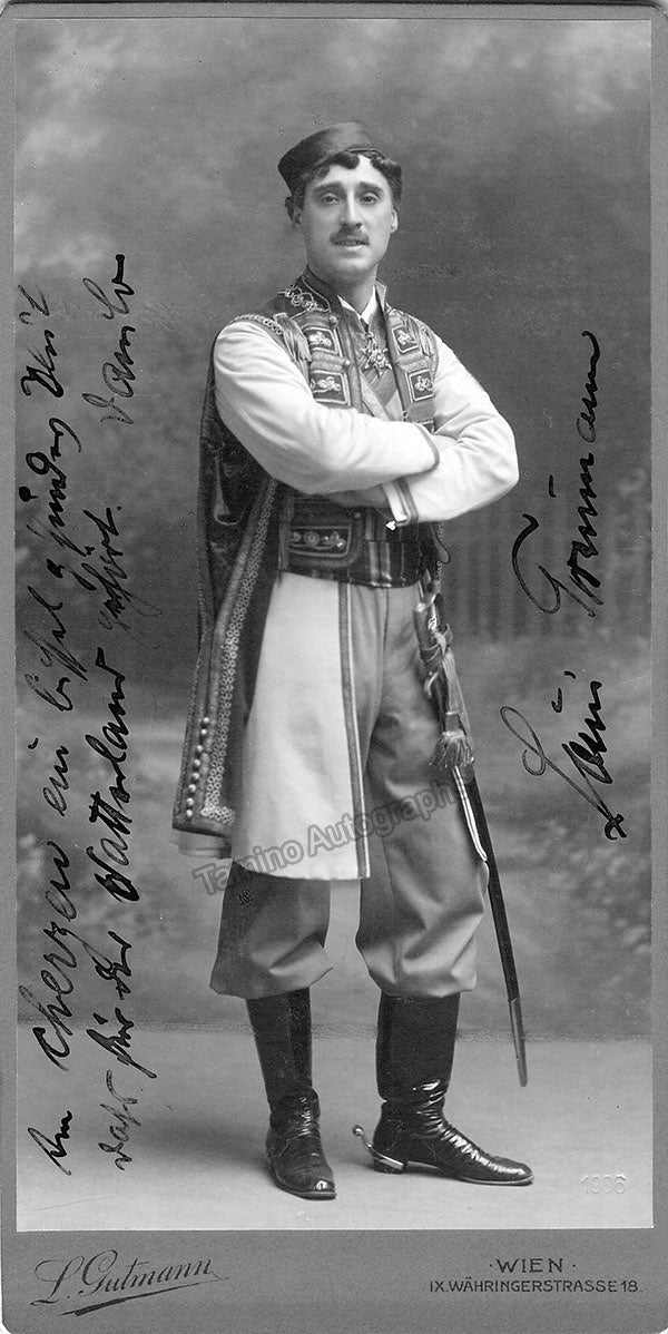 Louis Treumann in The Bartered Bride
