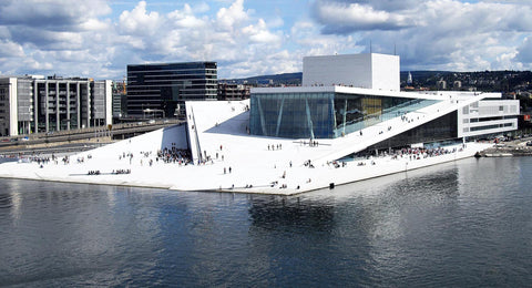 Oslo Opera house External View by day