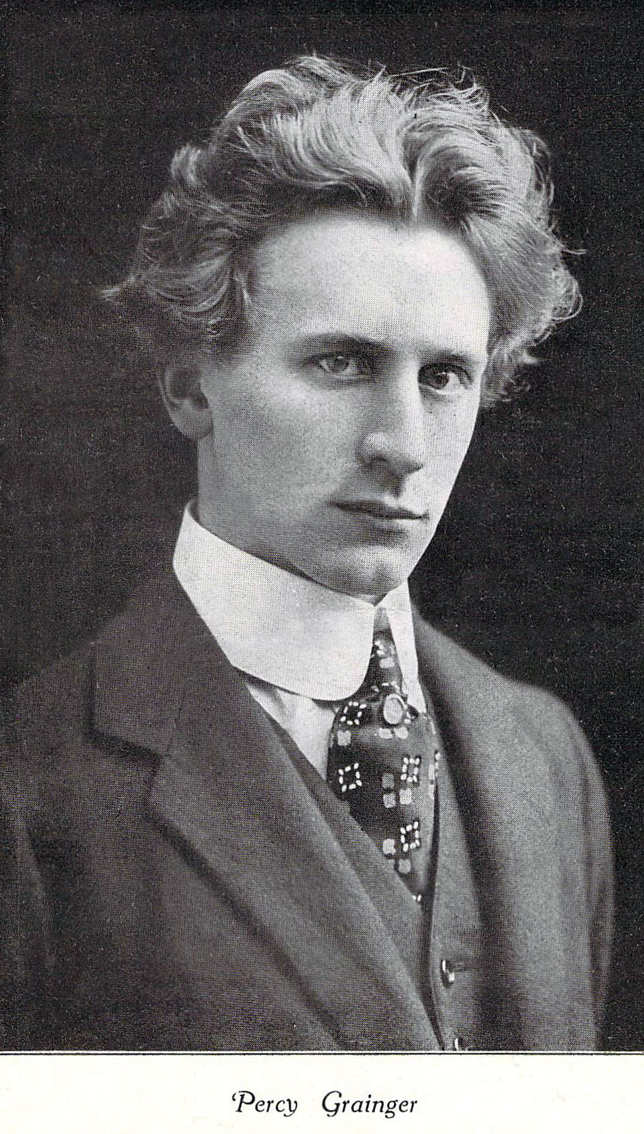Percy Grainger photo at a young age