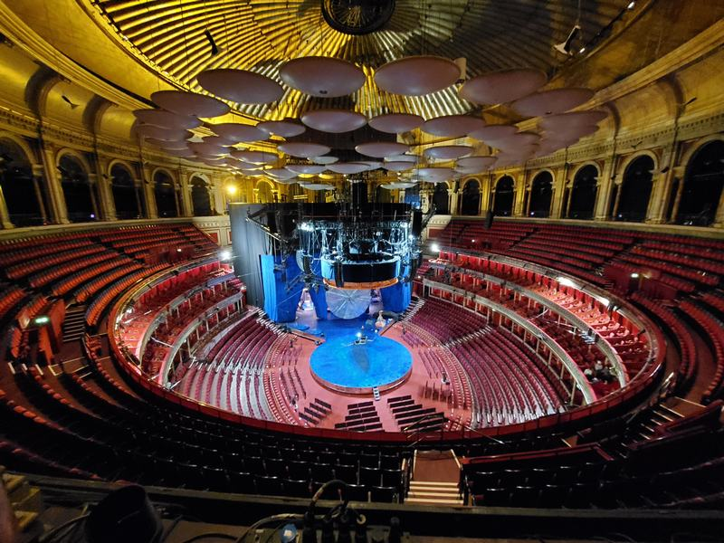 A tour of the Royal Albert Hall