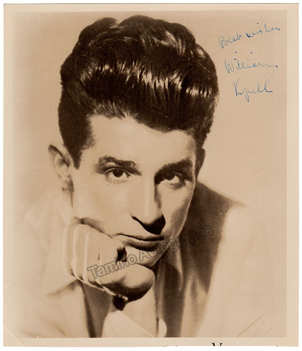 William Kapell Signed Photograph