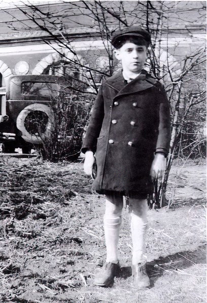 William Kapell as a young boy