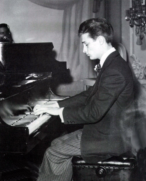 William Kapell in concert at a young age