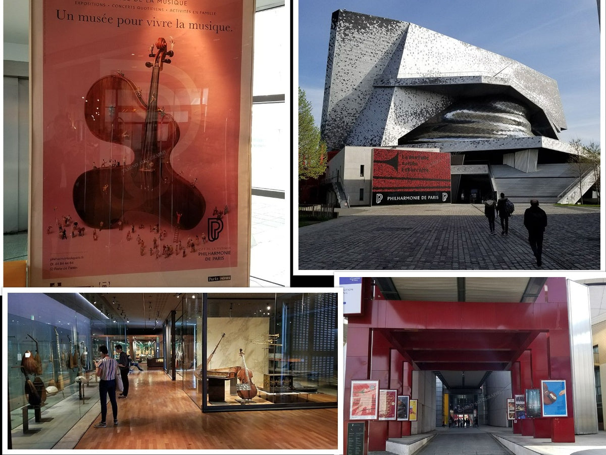 Cité de la Musique – Museum of Music in Paris