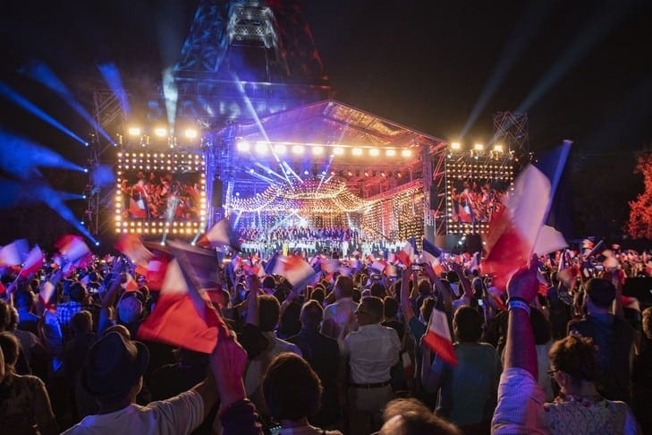 Paris concert - Bastille Day 2020