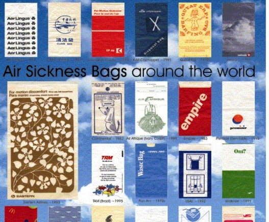 Airline barf bags