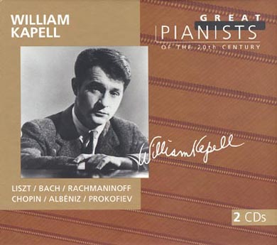 William Kapell recording - Great pianists of the 20th century