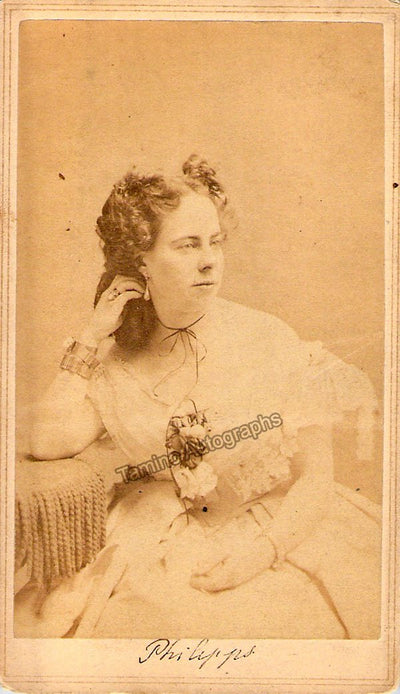 Phillipps, Adelaide - Unsigned CDV