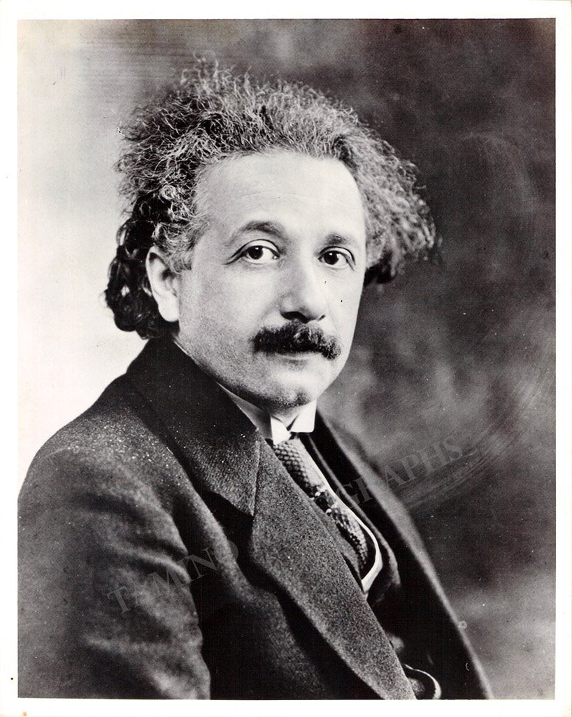 Einstein, Albert - Signed Photo 1931