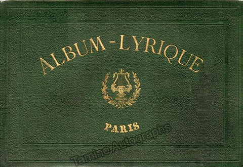 Lallier, Julien - Album-Lyrique Biographique Illustré Compositeurs et Musiciens 1867