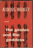 "Huxley, Aldous - Signed Book ""The Genius and the Goddess"" 1955"