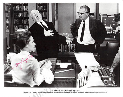 Hitchcock, Alfred - Signed Photo in Marnie