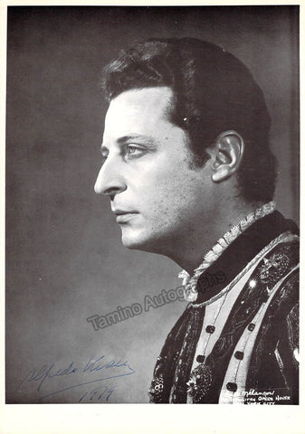 Kraus, Alfredo - Signed photo in Rigoletto