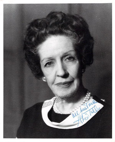 Tully, Alice - Signed Photo
