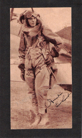 Earhart, Amelia - Signed Photo