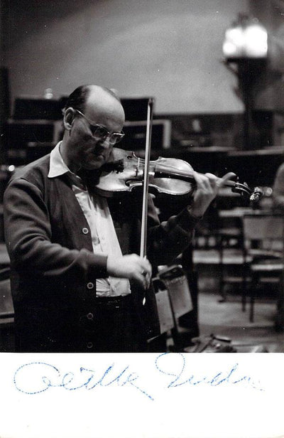 Gertler, Andre - Signed Photo in Rehearsal