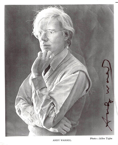 Warhol, Andy - Signed Photo