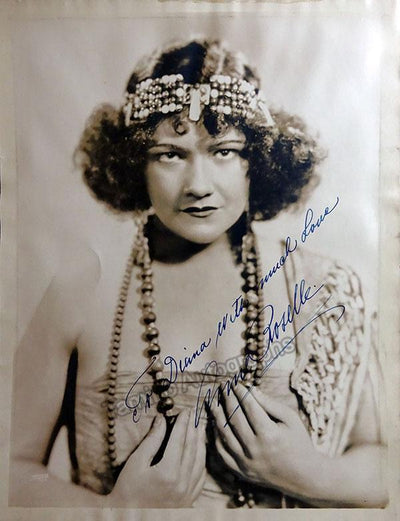 Roselle, Anne - Large Signed Photo