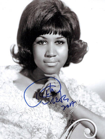 Franklin, Aretha - Signed Photo 2007