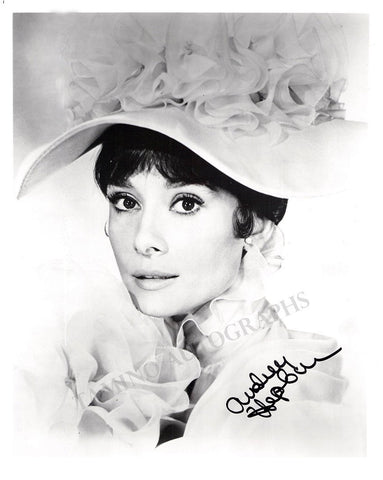 "Hepburn, Audrey - Signed Photo in ""My Fair Lady"""