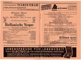 Kleiber, Erich - Lot of 4 Programs Berlin 1931-1933