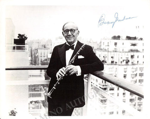Goodman, Benny - Signed Photo