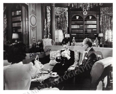 "Davis, Bette - Signed photo in ""Mr. Skeffington"""
