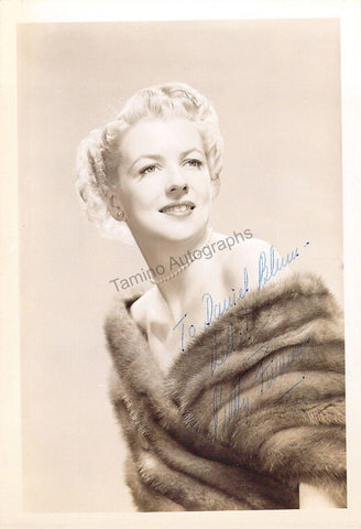 Furness, Betty - Signed Photograph
