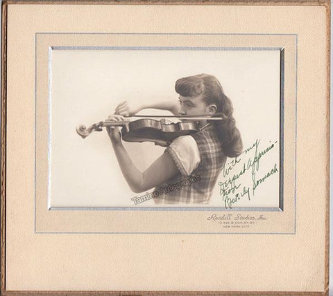 Somach, Beverly - Signed Photo