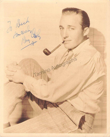 Crosby, Bing - Signed Photograph