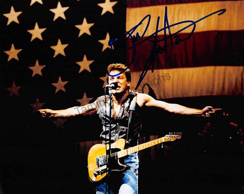 Springsteen, Bruce - Signed Photograph