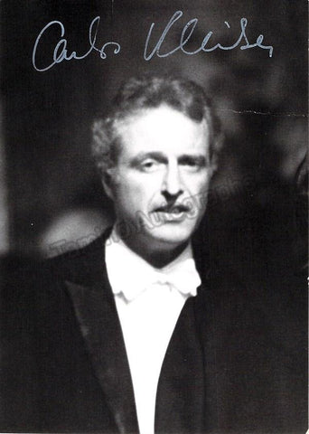 Kleiber, Carlos - Signed Photo