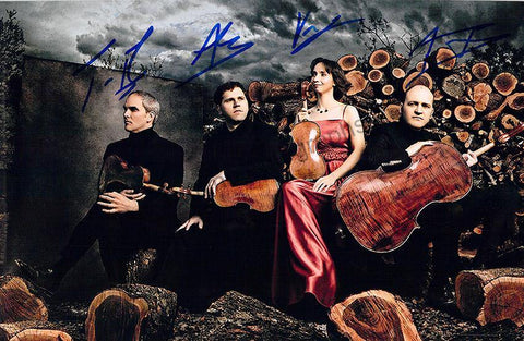 Casals String Quartet - Larger Size Signed Photo